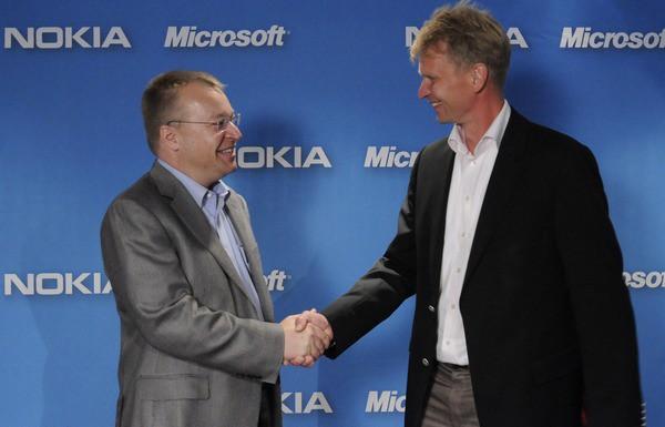 Microsoft Nokia альянс соглашение