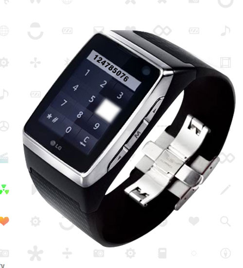 LG G910 Touch Watch