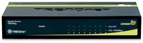 коммутатор TRENDnet TEG-S80g