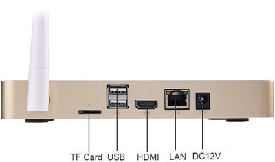 TV - Box PIPO X7s с интегрированным динамиком и микрофоном