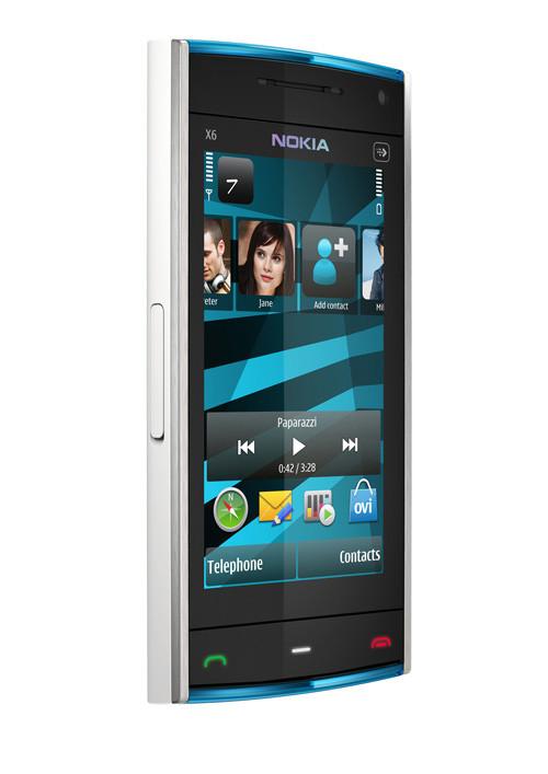 nokia смартфон x6 сенсорный