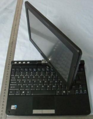 Планшетный ноутбук Haier X200P с сенсорным дисплеем и Windows XP/Linux