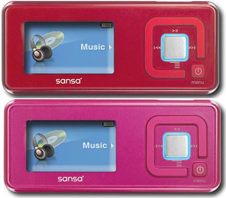 SanDisk Sansa C250: женский плеер