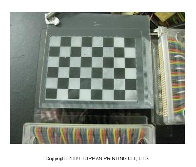 Toppan электронная бумага TFT оксидный полупроводник