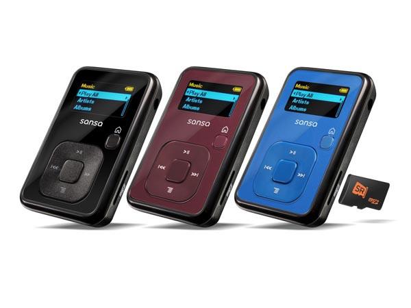 SanDisk mp3 плеер Sansa Clip+ microSD