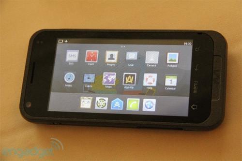 Aava обновляет свой смартфон на Atom Z600 - Virta 2