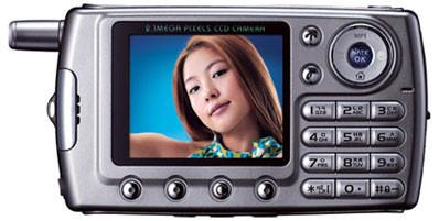 Curitel P1 TTS - двухмегапиксельный камерафон
