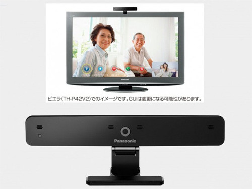 Panasonic представляет HD-вебкамеру для телевизоров VIERA, совместимую со Skype
