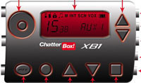 Chatterbox XB1 - удобная радиостанция для мотоциклистов
