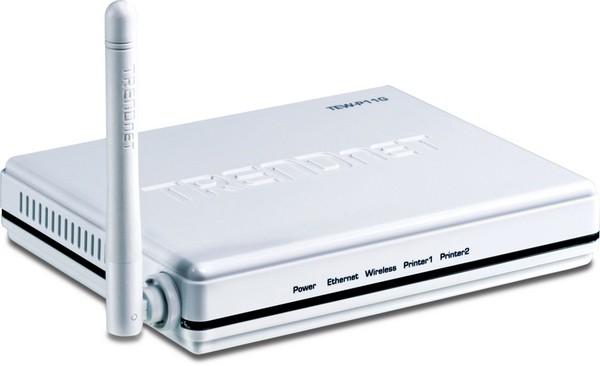TRENDnet принт сервер Беспроводной TEW-P11G