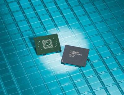 Toshiba NAND flash память 64 ГБ 32 нм