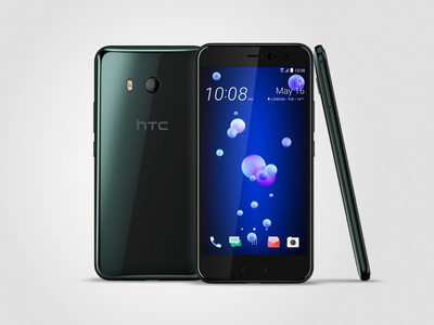 HTC представила смартфон U11, реагирующий насжатие