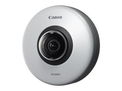 VB-S805D и VB-S905F - две новые сетевые камеры Canon