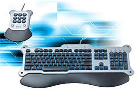 Saitek - клавиатура для ночных игроманов