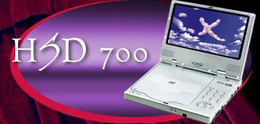 DVD-проигрыватель Xoro HSD 700