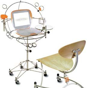 Офисный стол будущего