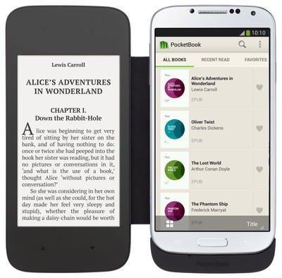 PocketBook CoverReader – обложка  с E Ink экраном для Galaxy S4