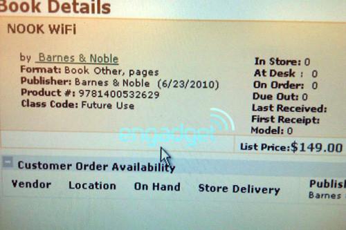 Barnes & Noble выпускает недорогой ридер Nook Wi-Fi