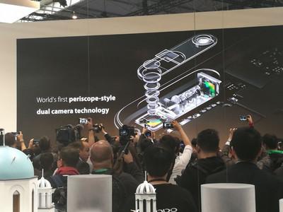 Прототип нового телефона Oppo с5-кратным оптическим зумом