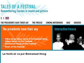 Сайт содержит 300 часов видеоматериалов, показывающих историю фестиваля