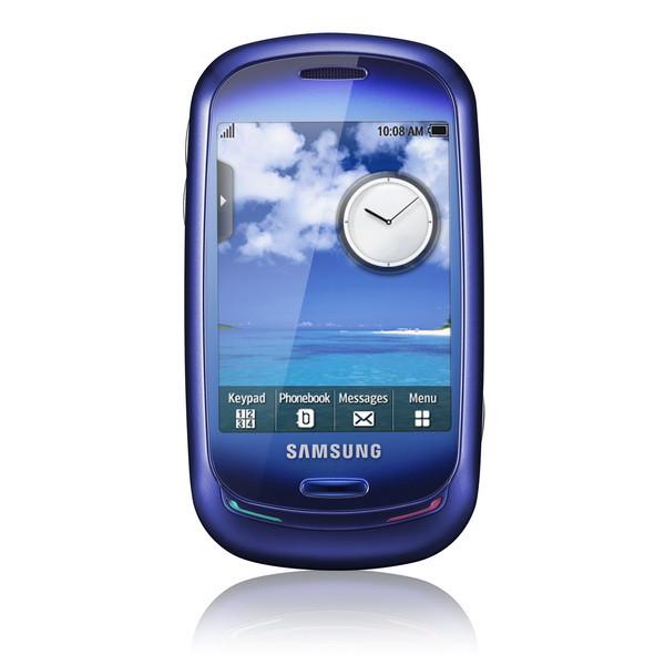 мобильный телефон samsung Blue Earth экологичный солнечная батарея