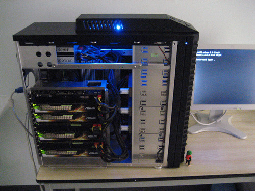 суперкомпьютер Fastra II 13 gpu cuda