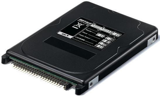 2,5-дюймовый твердотельный диск с портами PATA и USB - Buffalo SHD-NHPU2